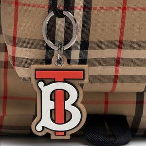 Burberry TB monogram keychain